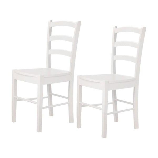 Sada 2 bielych stoličiek Støraa Trento Quer
