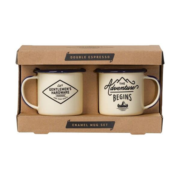 Set 2 căni pentru espresso Gentlemen's Hardware, 150 ml