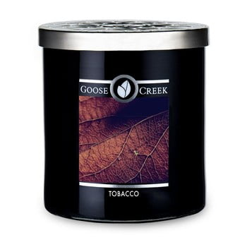 Lumânare parfumată în recipient de sticlă Goose Creek Men's Collection Tobacco, 50 ore de ardere imagine