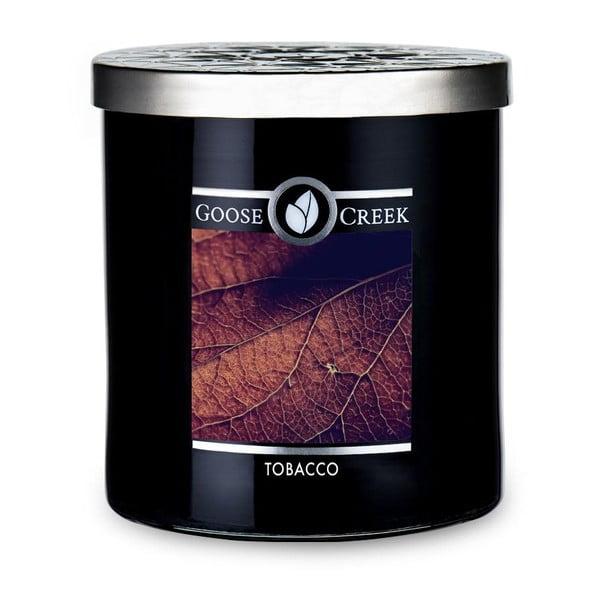 Świeczka zapachowa w szklanym pojemniku Goose Creek Men's Collection Tobacco, 50 godz. palenia