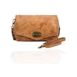 Kožená kabelka Italiana, camel