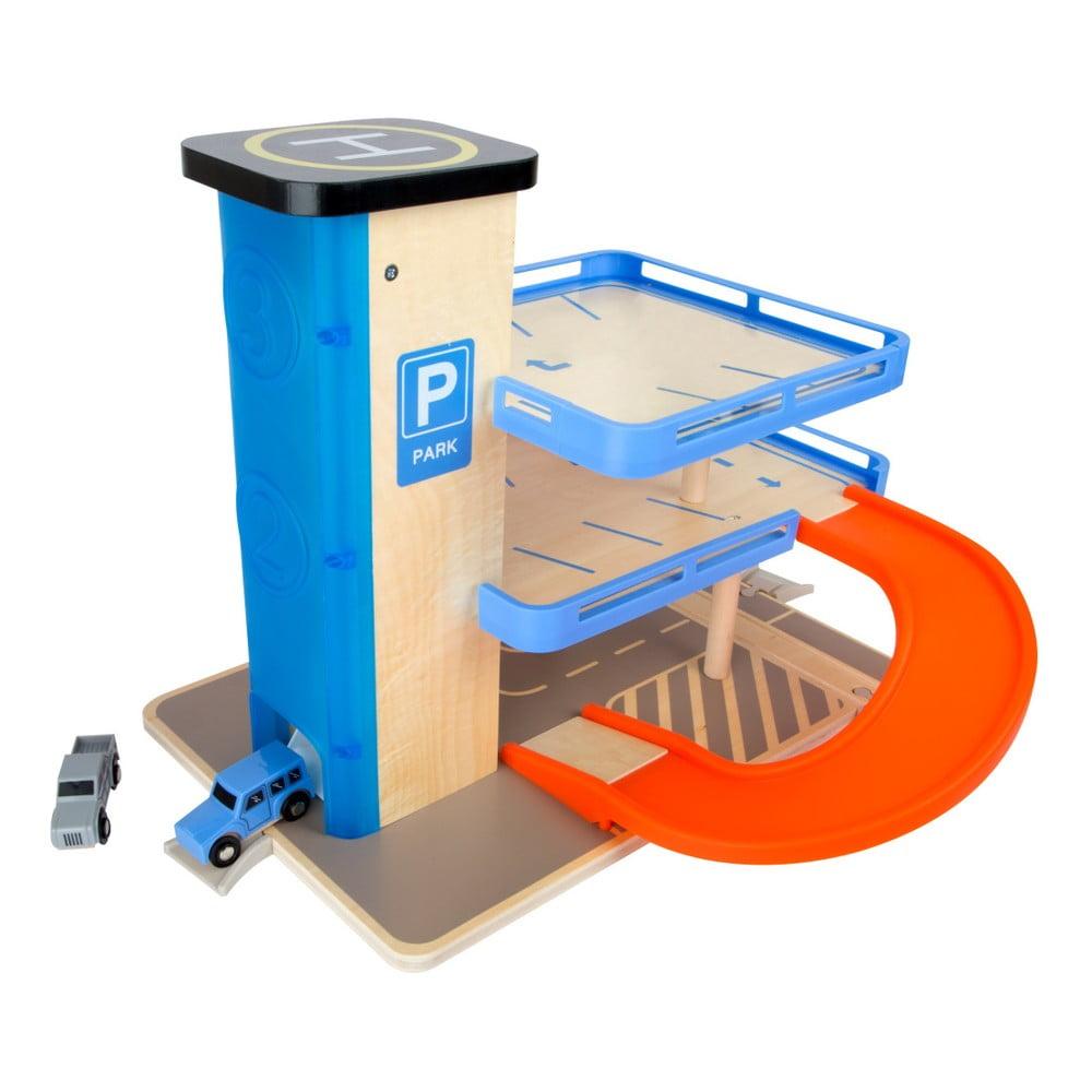 Produktové foto Dřevěné parkoviště na hraní Legler Business Class