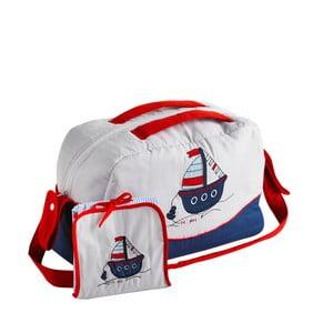 Set tašky přes rameno a přebalovací podložky Naf Naf Little Boat