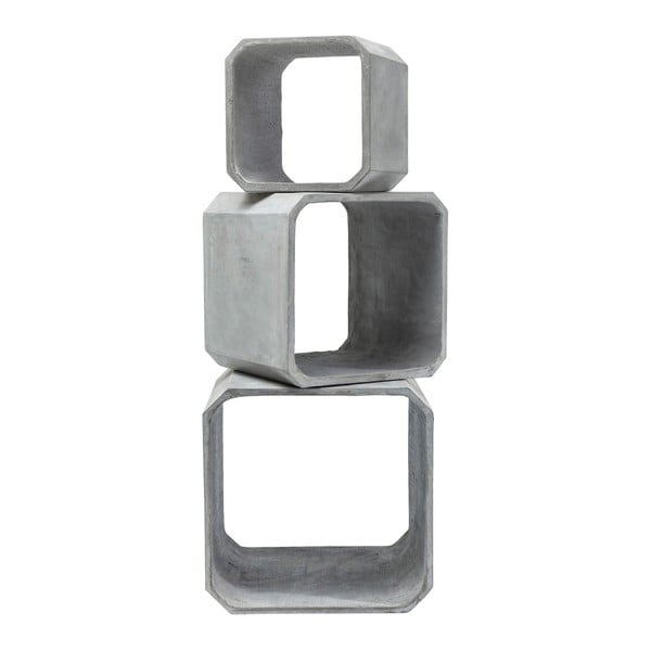 Sada 3 odkládací stolků Kare Design Concrete
