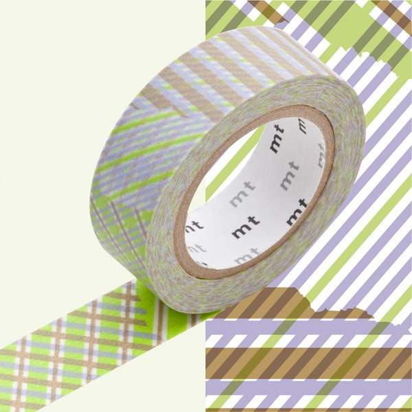 Bandă decorativă Washi MT Masking Tape Yves, rolă 10 m