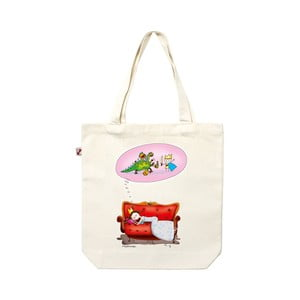 Plátěná taška Spící princezna