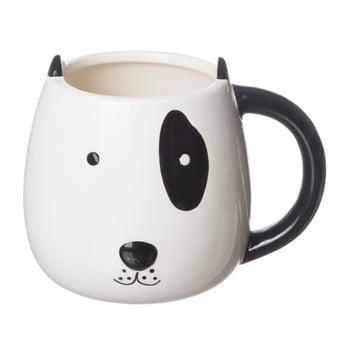 Cană din ceramică Le Studio Lenny, negru - alb, 140 ml