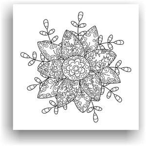 Obraz k vymalování Color It no. 87, 50x50 cm