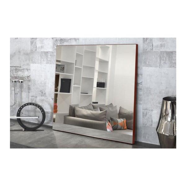 Nástěnné zrcadlo Aurora Red, 70x70 cm