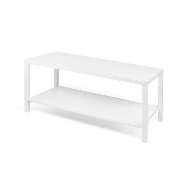 Bílý odkládací stolek TemaHome Basic