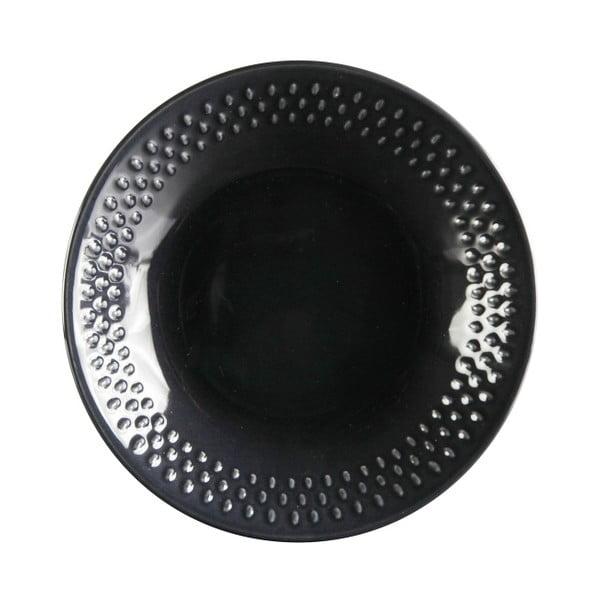 Sada 6 hlubokých talířů Grain Blackpepper