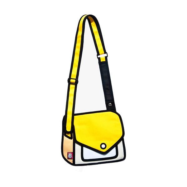 Komiksová taška Giggle Yellow