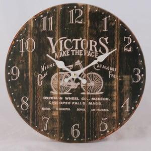 Dřevěné hodiny Victors