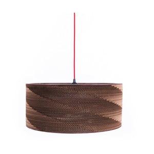 Kartonové svítidlo Kartoons Cylinder, Ø50cm