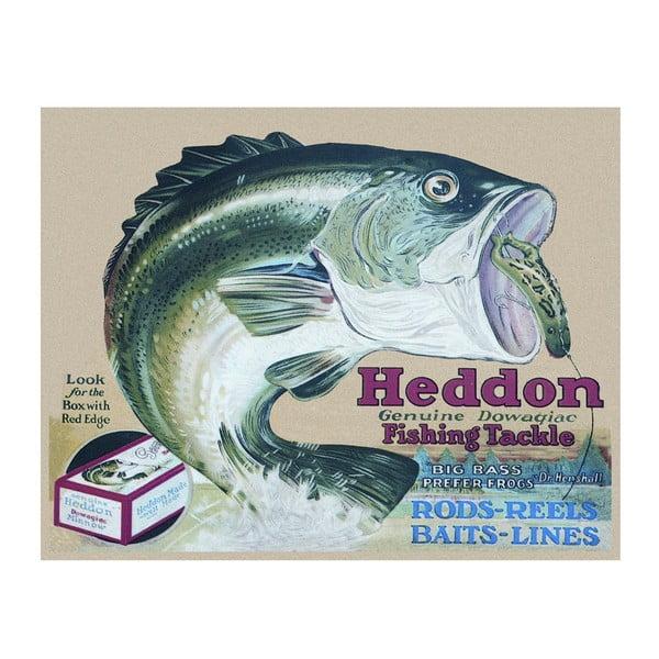 Plechová cedule Heddon