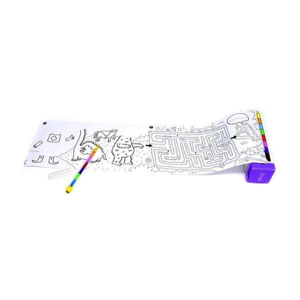 Kapesní omalovánka OMY Pocket Magic (30 x 42 cm)
