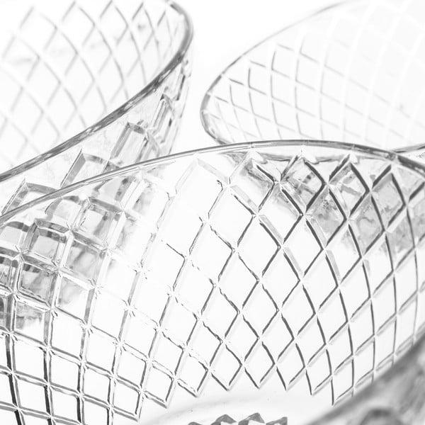 Sada 3 skleněných misek Unimasa Harlequin