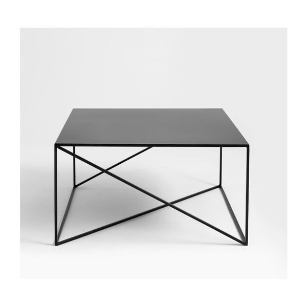 Černý konferenční stolek Custom Form Memo, šířka80cm
