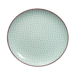 Zelený talíř Tokyo Design Studio Geo Eclectic, 16 cm