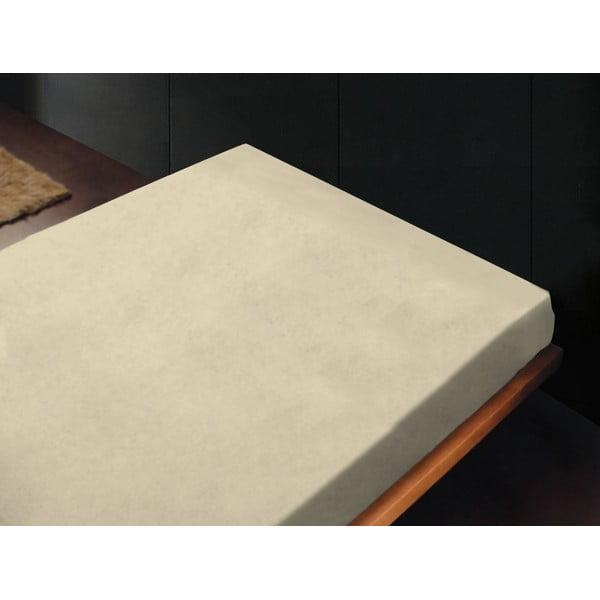 Prostěradlo Crema, 180x260 cm