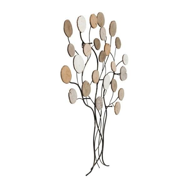Nástěnný věšák z jasanového dřeva Kare Design Autumn Tree