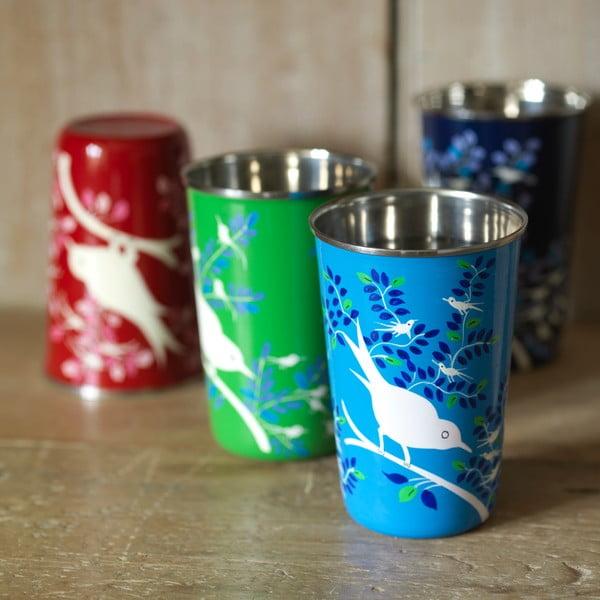 Hrnek Eva Hand Painted Cup, červený