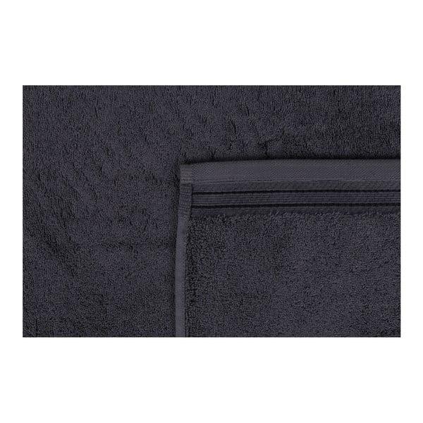 Tmavě šedý ručník Jerry,50x100cm