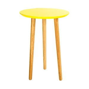 Odkládací stolek Blow Yellow