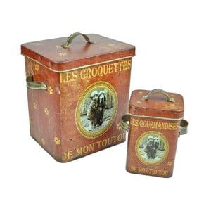 Set 2 cutii Antic Line Croquettes