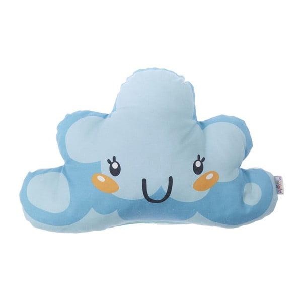 Pernă din amestec de bumbac pentru copii Apolena Pillow Toy Arro, 21 x 40 cm, albastru