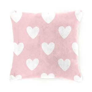 Dětský polštářek Home Collection Amore pink, 40x40 cm