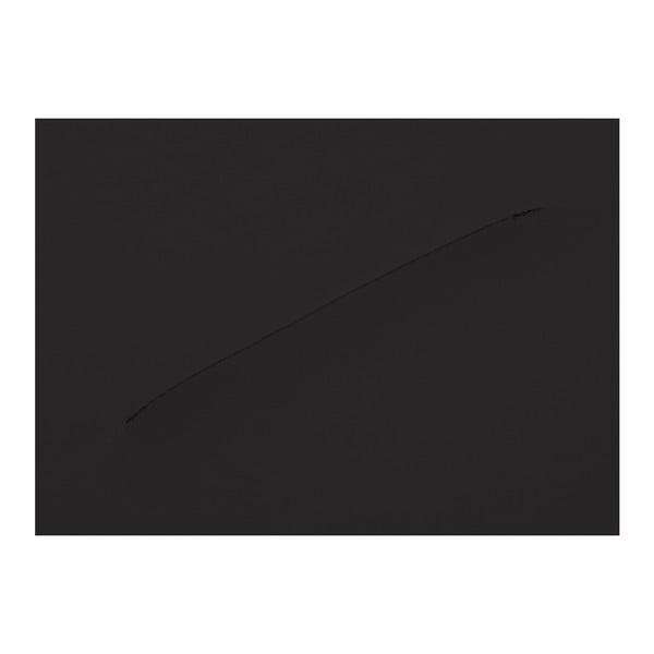 Černé koženkové křeslo Max Winzer Brandford