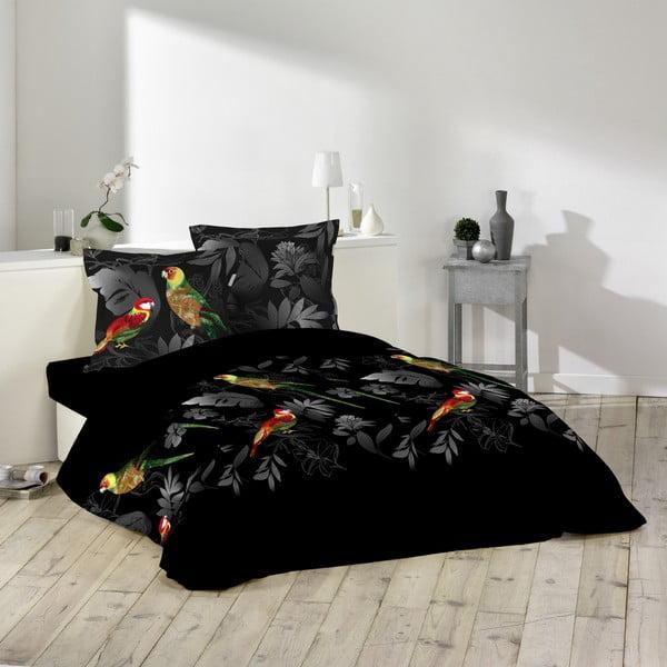 Povlečení Papure Noir, 220x240 cm