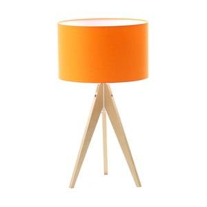 Stolní lampa Artist Orange/Birch, 40x33 cm