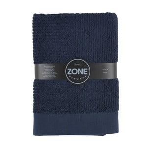 Tmavě modrá osuška Zone Classic, 70x140cm
