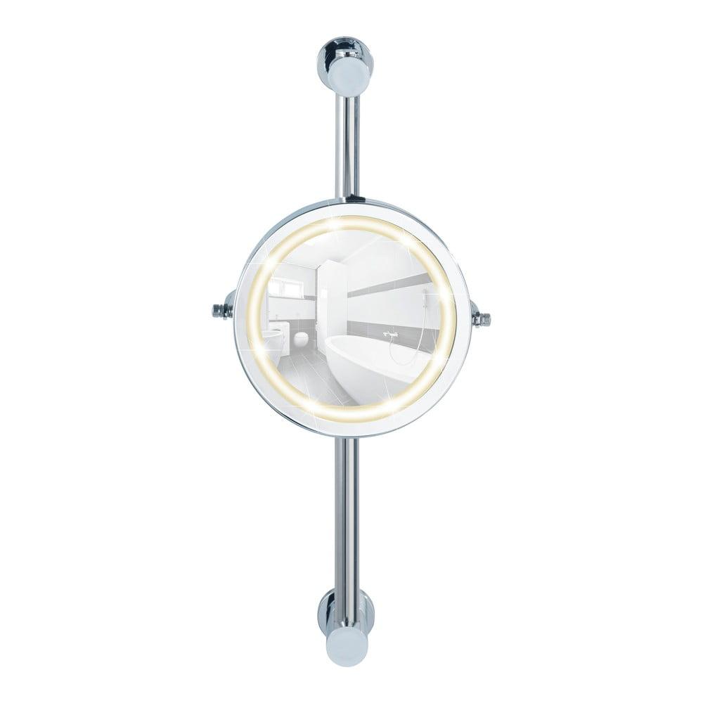 Nástěnné zvětšovací zrcadlo s LED osvětlením Wenko Carpi