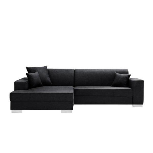 Čierna sedačka Interieur De Famille Paris Perle, ľavý roh