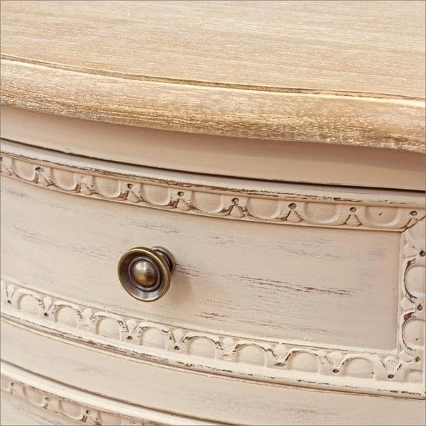 Noční stolek se 2 zásuvkami Bizzotto Clarisse
