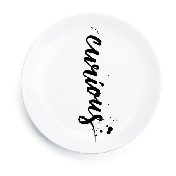 Porcelánový talíř Curious, 25 cm