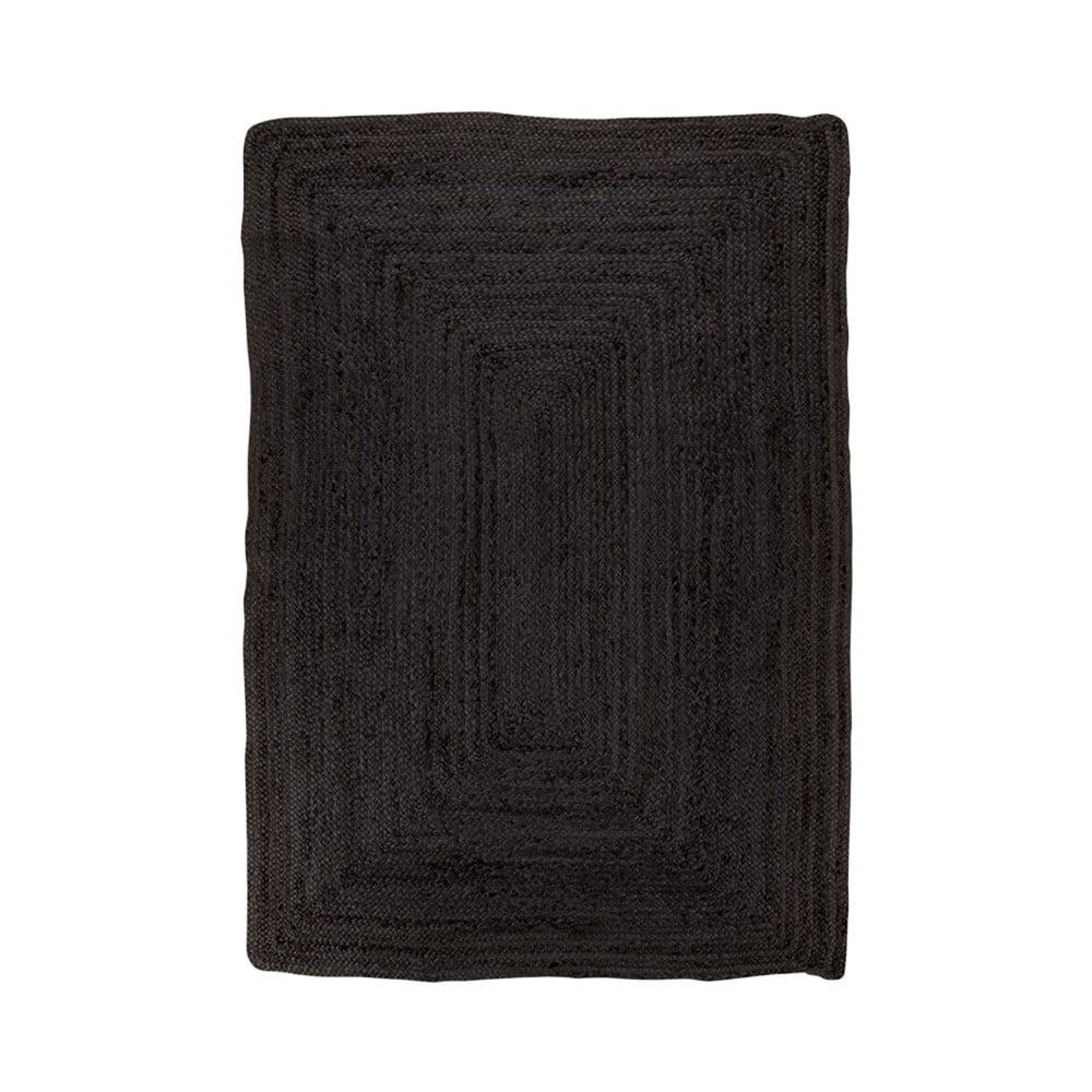 Černý koberec House Nordic Bombay Rug, 135 x 65 cm