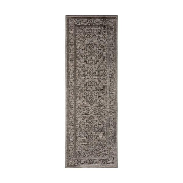 Covor potrivit pentru exterior Bougari Tyros, 70 x 200 cm, gri - maro