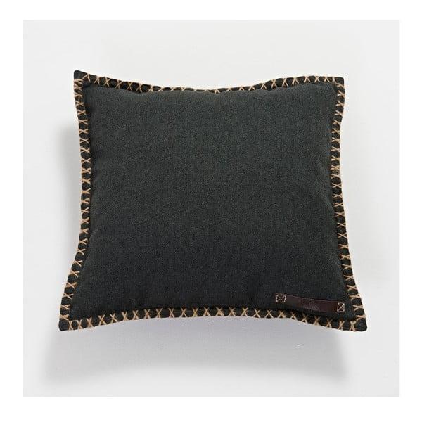 Polštář Medley CUSHIONit Black, 41x41 cm