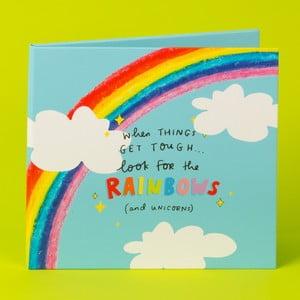Zavíratelný rám na fotografie Happy News Rainbows