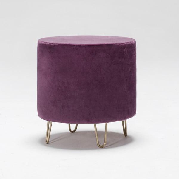 Taburet Balcab Home Ronda, violet