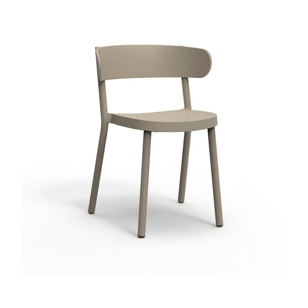 Sada 2 pískově hnědých zahradních židlí Resol Casino