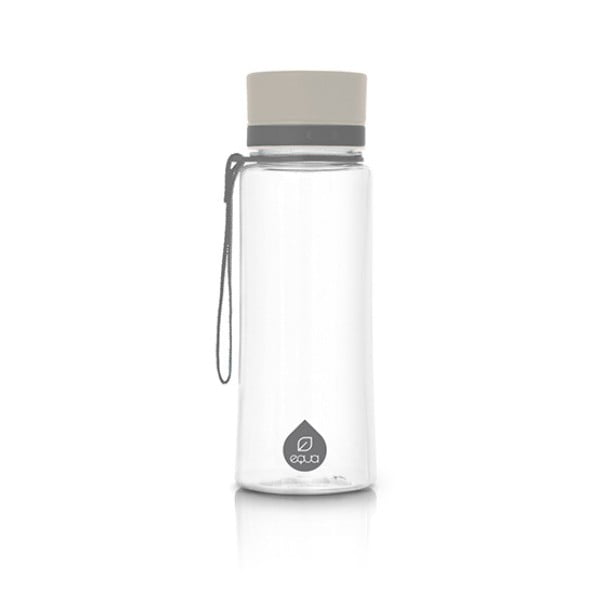 Plain szürke palack, 600 ml - Equa