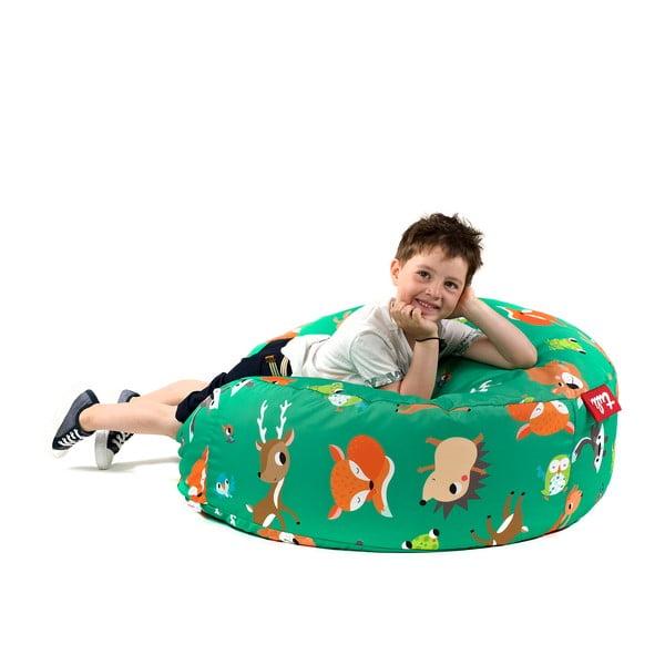 Dětský sedací vak Lesní zvířátka