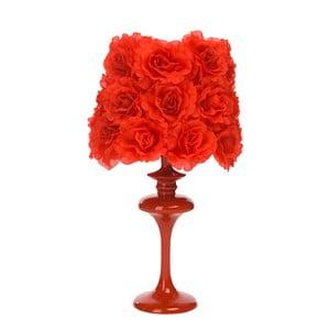 Stolní lampa Bloom, červená
