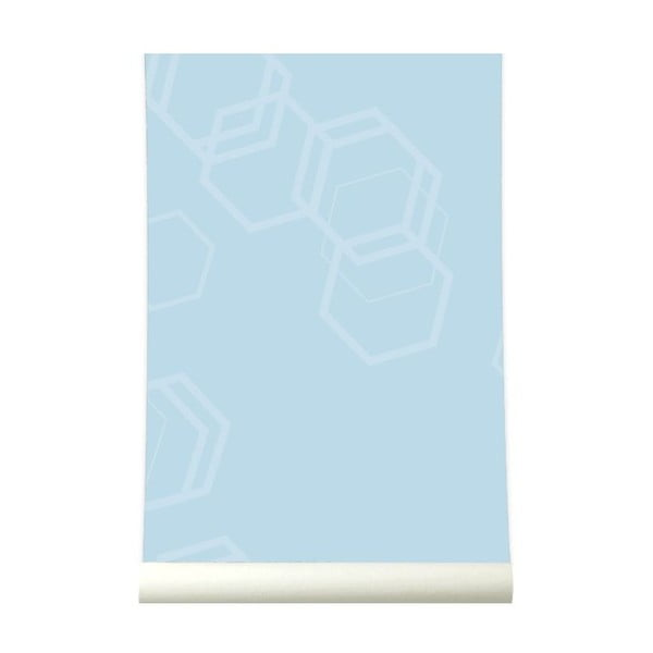 Tapeta Hexa Lighblue