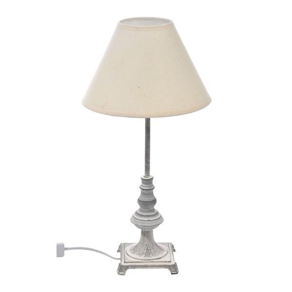Lampa se stínítkem, béžová, 44 cm